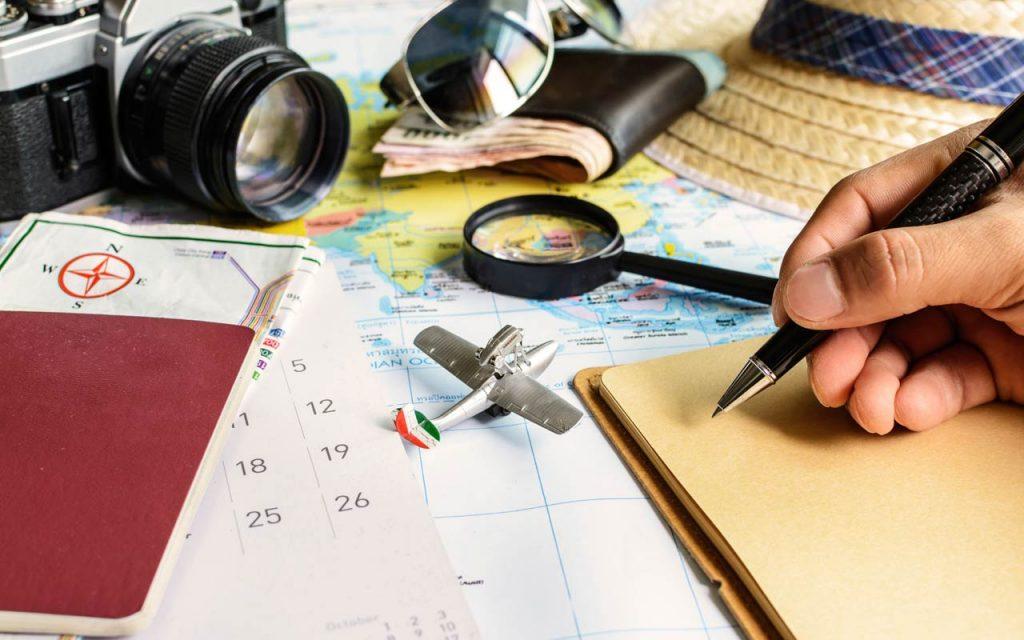 Reiseplan für Sie